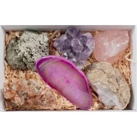 Colección  Minerales en estuche