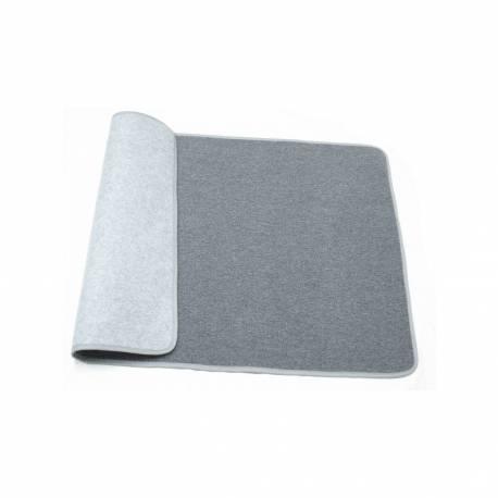 Alfombra gris 120x80