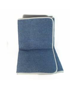 Alfombra azul 120x80