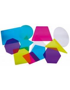 Formas 2D translúcidas para mesa de luz