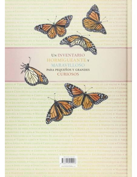 Contraportada Inventario ilustrado de insectos