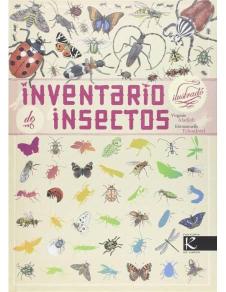Inventario ilustrado de insectos  Libros con Imágenes Reales