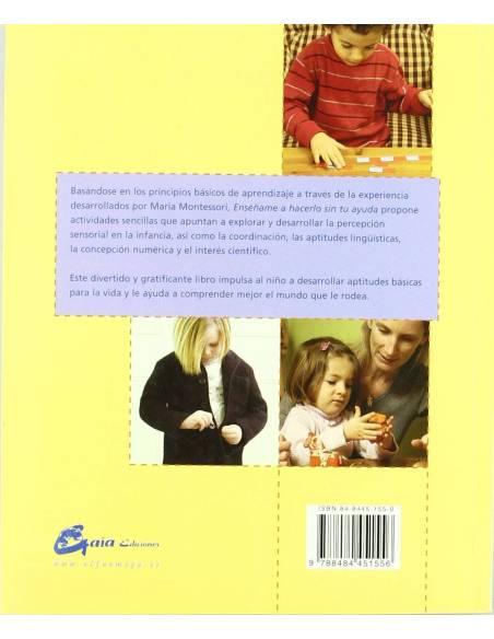 Enséñame a hacerlo sin tu ayuda  Libros Montessori