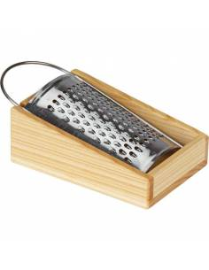 Rallador con base de madera