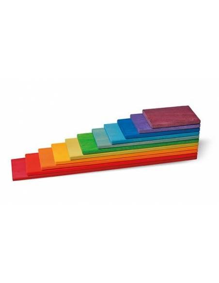 Tablas de Construcción Arcoiris  Puzzles y construcciones