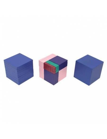 Cubicación y Material raíz cúbica  Educativos