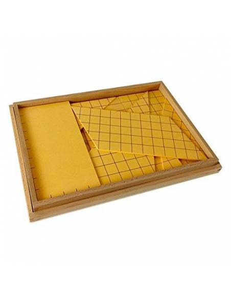 Triángulos amarillos para área  Geometría y Álgebra