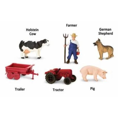 elementos de la granja