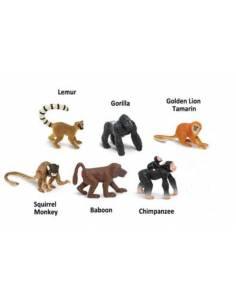 Monos y simios