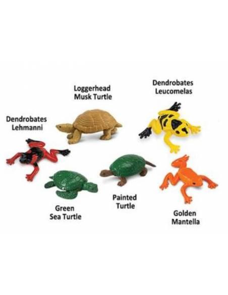 Sapos y tortugas  Toobs Animales