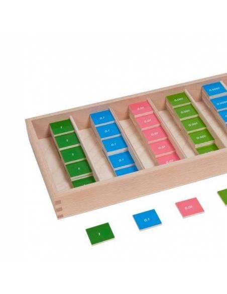 Decimal Stamp Game (Nienhuis)  Operaciones Abstractas