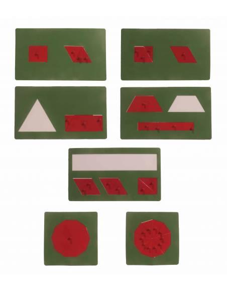 Material de equivalencias  Geometría y Álgebra