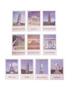 Tarjetas monumentos del mundo (EN)