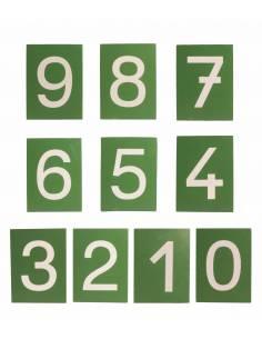 Números de lija PRINT con caja