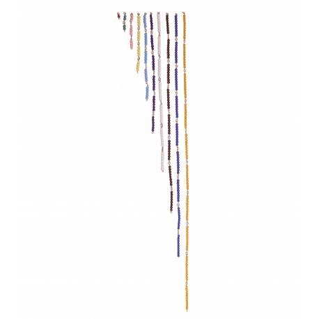 Cadenas de perlas - cortas