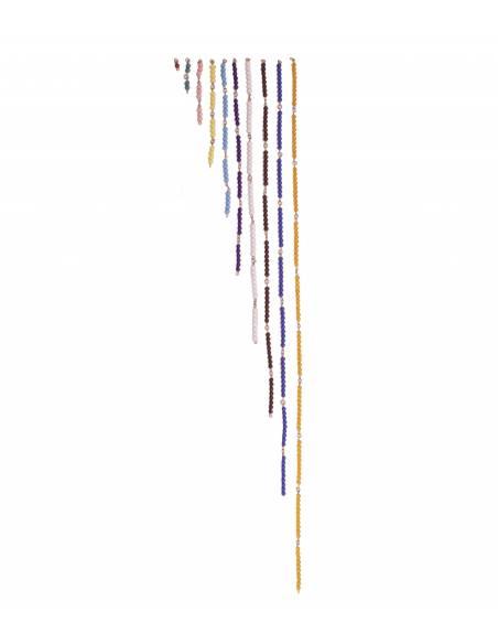 Cadenas de perlas - cortas  Sistema Decimal