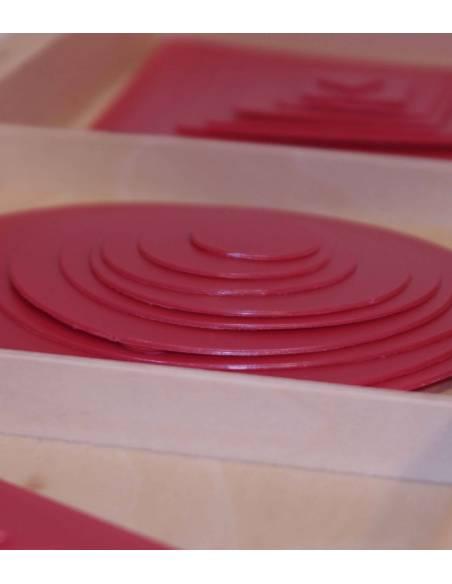 Figuras Geométricas Superpuestas  Material Montessori