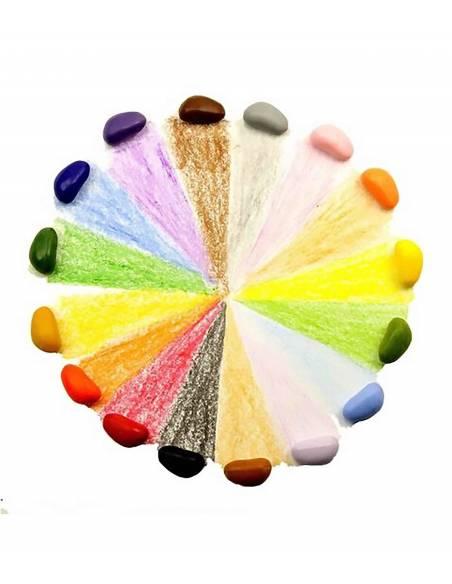 Crayon rocks - Pinturas 16 uds  Juguetes