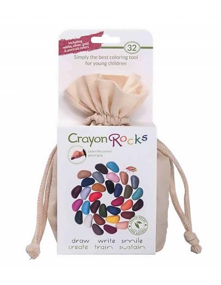 Crayon rocks - 32 uds  Más de 3 años