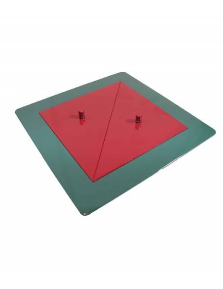 Cuadrados y rectángulos de metal  Geometría y Álgebra