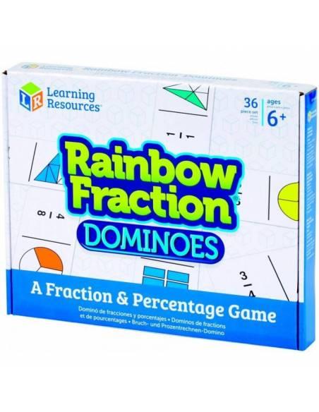 Dominó de fracciones  Fracciones