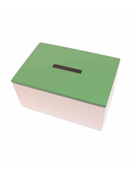 Caja operaciones RESTA en madera  Operaciones Básicas