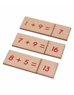 Caja operaciones SUMA en madera