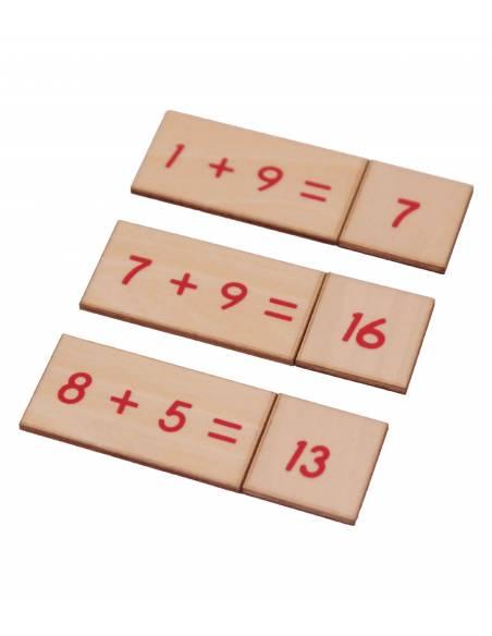 Caja operaciones SUMA en madera  Operaciones Básicas