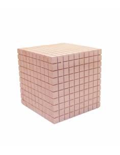 Cubo de 1000 en madera - Base 10