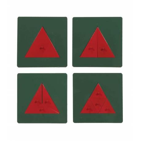 Triángulos de metal