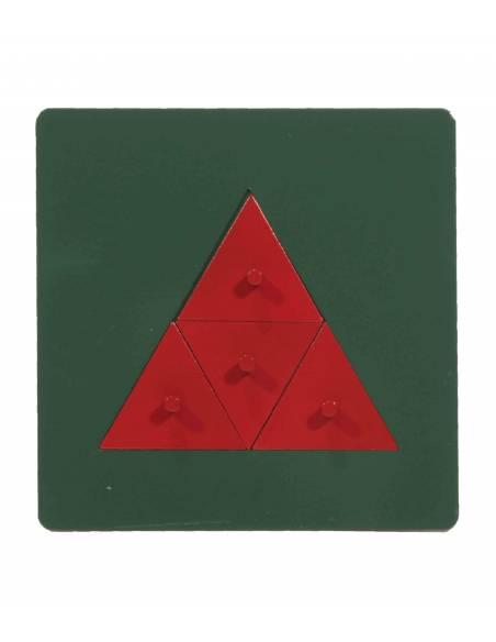 Triángulos de metal  Geometría y Álgebra