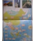 Atlas de las banderas con pegatinas