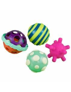 Ball-a-balloos. Conjunto de bolas con texturas