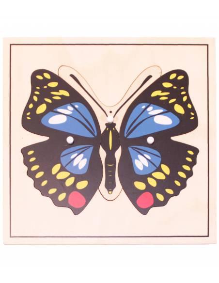 Puzzle madera - Mariposa