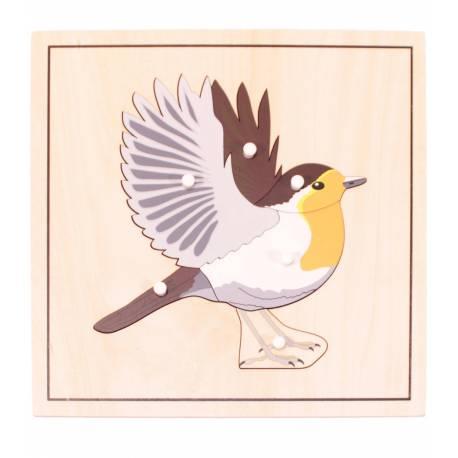 Puzzle Pájaro (esqueleto)