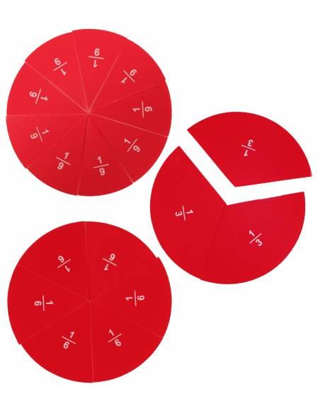 Caja de fracciones 1/10  Geometría y Álgebra