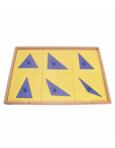 Gabinete Geométrico  Sensorial Montessori