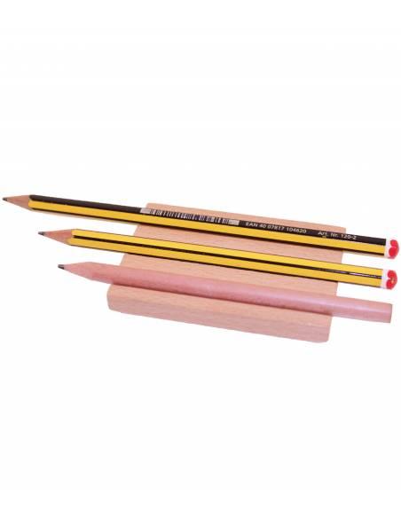 Soporte para 3 lápices  Lenguaje