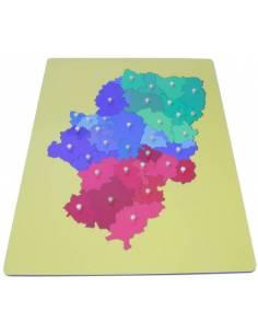 Mapa Aragón- Mediano