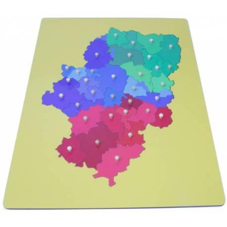Mapa Montessori Aragón- Mediano