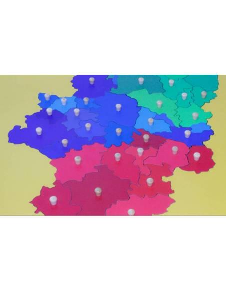 Mapa Aragón- Mediano  Mapas de España