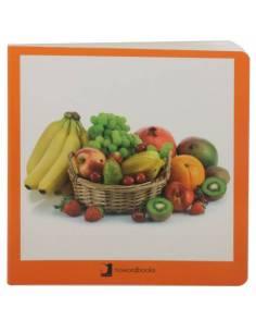 Cuento Imágenes Frutas cartón