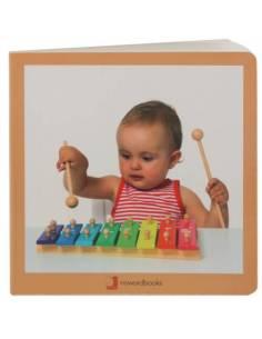 Cuento Imágenes Instrumentos Musicales cartón
