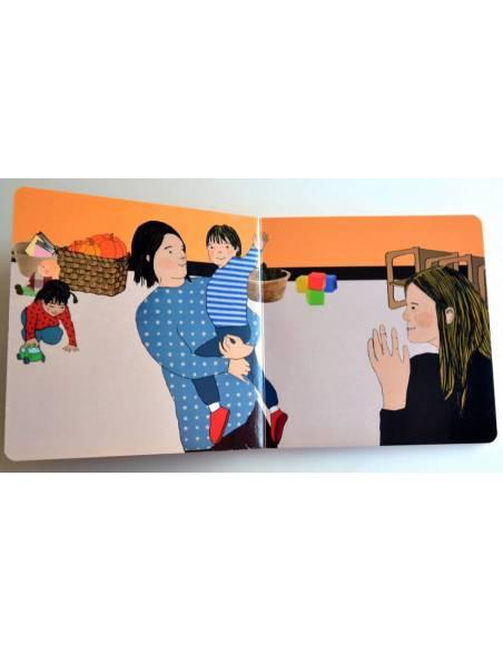 Cuento Imágenes ¡Buenos días! cartón  Libros para bebés