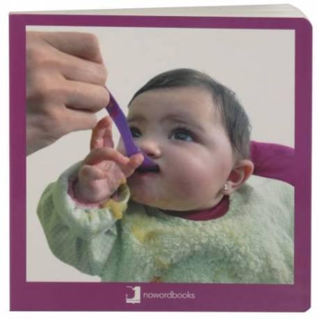 Cuento Imágenes reales ¡A Comer!  Libros para bebés