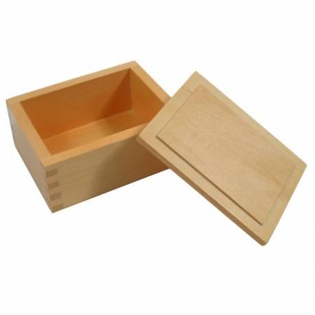 Caja de madera 12 X 9.5 X 5.5 CM  Contar del 0 al 100