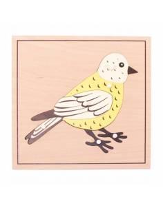 Puzzle Pájaro(SIN esqueleto)