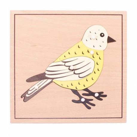 Puzzle pájaro
