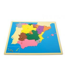 Mapa de España*