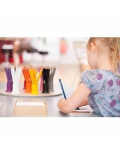 Lápices de colores para los botes de lápices